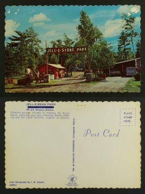 Jell-e-Stone/ Jell-E-Bean park Campground Stayner c1970