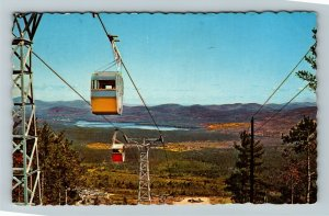 West Ossipee NH- New Hampshire, Tramway At Mt. Whittier, Chrome c1972 Postcard