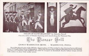 Pennsylvania Washington Escape Of David Bradford The Pioneer Grill George Was...