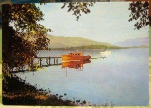Scotland Early Morning on Loch Lomond - unposted