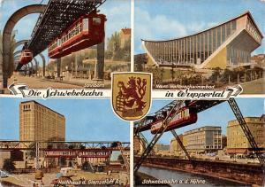Die Schwebebahn in Wuppertal, Hochhaus d. Glanzstoff Sonnborn Hallenschwimmbad