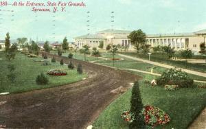 NY - Syracuse. State Fair Grounds Entrance