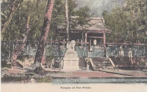 Postcard of the Temple Of Far East Nikko Nr Tokyo Japanese Buddhist Shrine