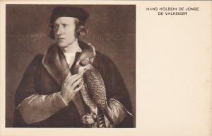 De Valkenier by Hans Holbein De Jonge Museum Den Haag