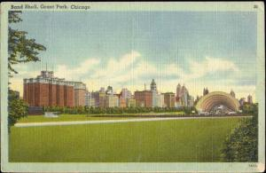 Chicago, Ill., Grant Park, Bandstand (1946)
