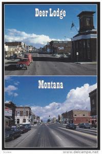 Streets of Deer Lodge, Deer Lodge Hotel, DEER LODGE, Montana, 50-70´s