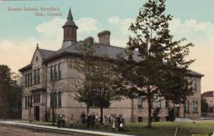 STRATFORD , Ontario , Canada, 1900-10s ; Romeo School