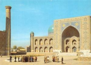 Uzbekistan Samarkand The Tilla-Kary Madrasah