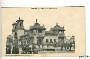 Pan-American Expo Electricity Postcard
