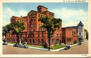 Ohio Toledo Y M C A Building Jefferson Avenue 1942 Curteich