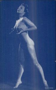 Sexy Pin-Up Woman Semi Nude Arcade Exhibit Card c1920s-30s #11