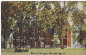 Illinois Galesburg Knox College 1909 Curteich