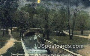 Doan Brook, Rockefeller Park - Cleveland, Ohio