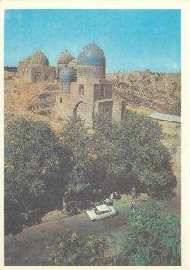 Uzbekistan Samarkand shahi zinda ensemble architecture Postcard