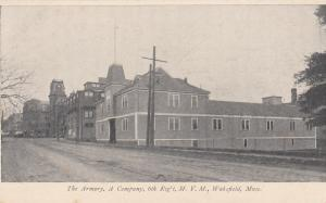 WAKEFIELD , Massachusetts , PMC 1898 ; Armory