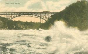 Whirlpool Rapids early 1900s unused Postcard