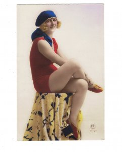 HI1016 BATHING BEAUTY ART DECO PERIOD 1920 RISQUE SEXY LOOK