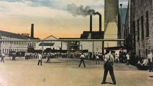 Recreation Hour Illinois State Penitentiary Prison Joliet Baseball Stacks Yard