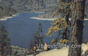 Omak Lake, WA