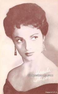 Ursula Thiess Movie Star Actor Actress Film Star Postcard, Old Vintage Antiqu...