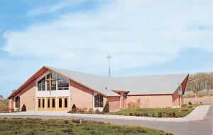 Windsor Locks Connecticut~St Roberts Mission Church 1950s Postcard