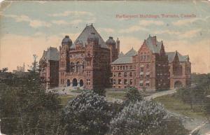 Parliament Buildings, Toronto, Ontario, Canada, PU-1918
