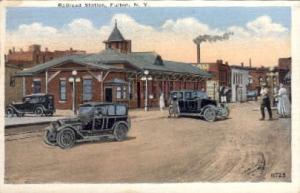 Railroad Station, Fulton, New York, NY, USA Railroad Train Depot Postcard Pos...