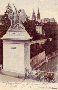 WETTSTEINBRUCKE BASEL SWITZERLAND 1905