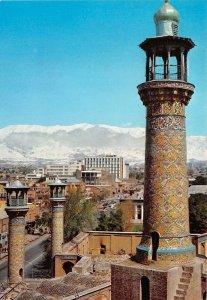 us7578 sepahsalar mosque against the tochal mountains teheran iran