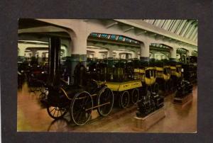 MI Dearborn Michigan Henry Ford Cars DeWitt Clinton Railroad Train Automobiles