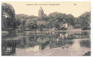 Aberjona River, Winchester, Massachusetts, 1900-1910s
