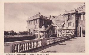 Italy Liguria Genova Palazzo Reale Veduta Da Uno Dei Terrazzi