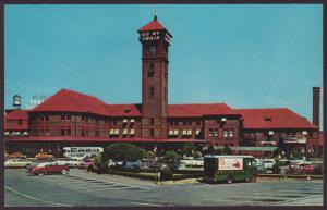 Union Depot,Portland,OR Postcard