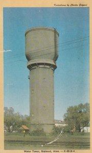 Water Tower , BRAINERD , Minnesota , 1950-60s