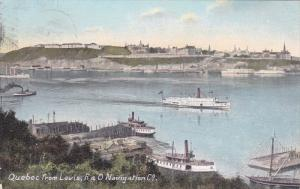 R & O Navigation Company, Quebec from Levis, Canada, PU-1908