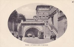 Il Traforo Sotto Il Quirinale, ROMA (Lazio), Italy, 1900-1910s
