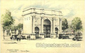 Marble Arch, London, Artist Joseph Pike, Unused