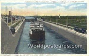 Gatun Locks Panama Canal Republic of Panama Unused