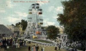 Al Fresco Park, Peoria, Illinois, IL, USA Amusment Park, Fairgrounds, Postcar...