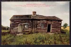 Abraham Lincoln's Log Cabin,Coles County,IL BIN