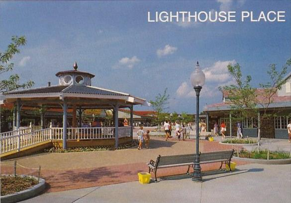 Indiana Michigan City Lighthouse Place Is Famous Manufacters Outlet Center Lo...