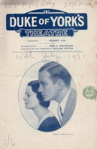 London Wall Robert Raglan of Dads Army 1930s Comedy Theatre Programme