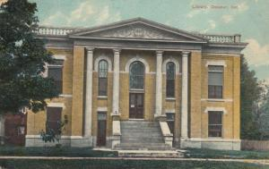 DECATUR , Indiana ; PU-1911 ; Library