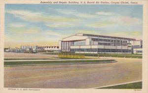 Texas Corpus Christi Assembly & Repair Building U S Naval Air Station Curteich