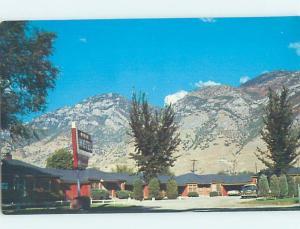 Unused Pre-1980 MOTEL SCENE Provo Utah UT G6656