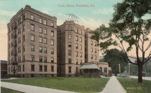 FRANKLIN , Pennsylvania , PU-1909 ;  Park Hotel