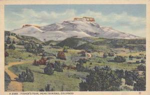 Fisher's Peak, near Trinidad, Colorado, PU