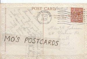 Genealogy Postcard - Johnson - 25 Vickers Road - Erith - Kent - Ref 5686A
