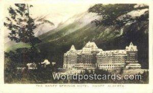 Banff Springs Hotel Banff, Alberta Canada 1946