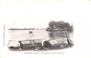 Saigon, Embouchure de l'Arroyo Chinois Cochinchine Vietnam, Viet Nam Unused